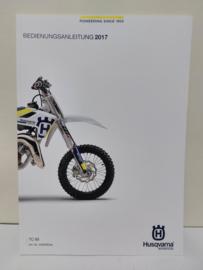 HUSQVARNA TC 65 HANDLEIDING MODELJAAR 2017 DUITS