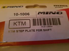 KTM SX 65 / HUSQVARNA TC 65 MINO RACING SCHAKELPEDAAL TIP ALLE BOUWJAREN