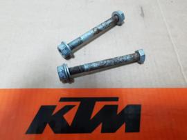 KTM SX 65 / HUSQVARNA TC 65 SET BLOKBOUTEN GEBRUIKT 2009-2020