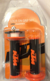 KTM  POWERPARTS LOCK ON ORIGINELE HANDVAT SET