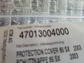 KTM SX 65 STOFKAP REMHENDEL T/M BJ 2012