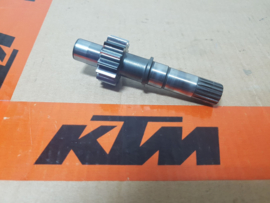 KTM SX 50 / HUSQVARNA TC 50 KOPPELINGSAS / HOOFD AS 2009 - 2020 GEBRUIKT