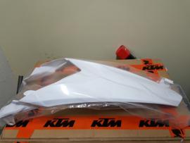 KTM SX 85 WIT ACHTERSPATBORD 2013-2017 NIEUW