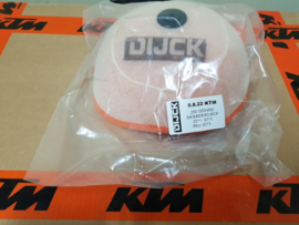 KTM SX 85 / HUSQVARNA TC 85 DIJCK  LUCHTFILTER 2013  - 2017