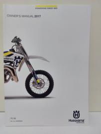 HUSQVARNA TC 65 HANDLEIDING MODELJAAR 2017 ENGELS
