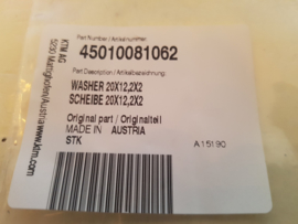 KTM SX 65 RING ACHTERWIEL AS