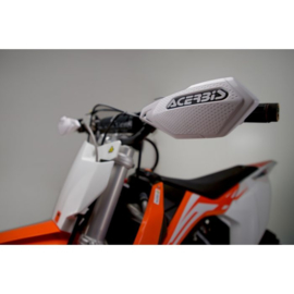 KTM SX 50 / HUSQVARNA TC 50 ACERBIS X-ELITE HANDKAPPEN MINI CROSS WIT /ZWART