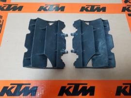 KTM SX 65/ HUSQVARNA TC 65 SET RADIATEUR GRILLEN 2009-2020 GEBRUIKT