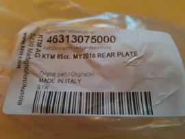 KTM SX 65 / HUSQVARNA TC 65 ACHTERREM HOUDER 2016 - 2020 NIEUW