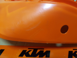 KTM SX 65 ACHTERSPATBORD ORANJE GEBRUIKT 2009 - 2015