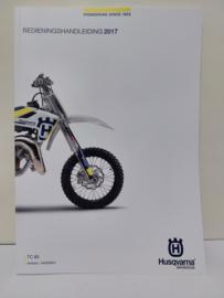 HUSQVARNA TC 65 HANDLEIDING MODELJAAR 2017 NEDERLANDS