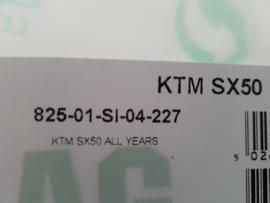 KTM SX 50 / HUSQVARNA TC 50 ORG. RENTHAL 825 STUUR NIEUW ALLE BOUWJAREN