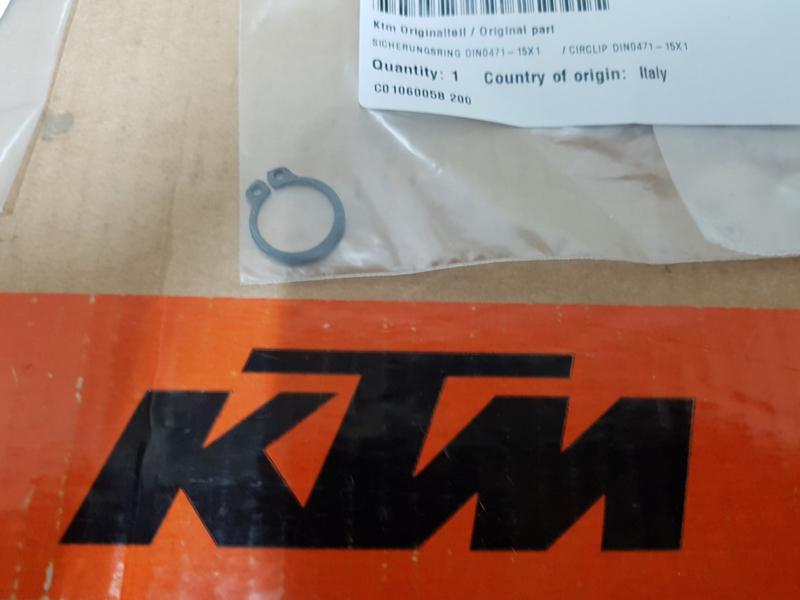 KTM SX 50 / HUSQVARNA TC 50 CLIP VOORTANDWIEL ALLE BOUWJAREN