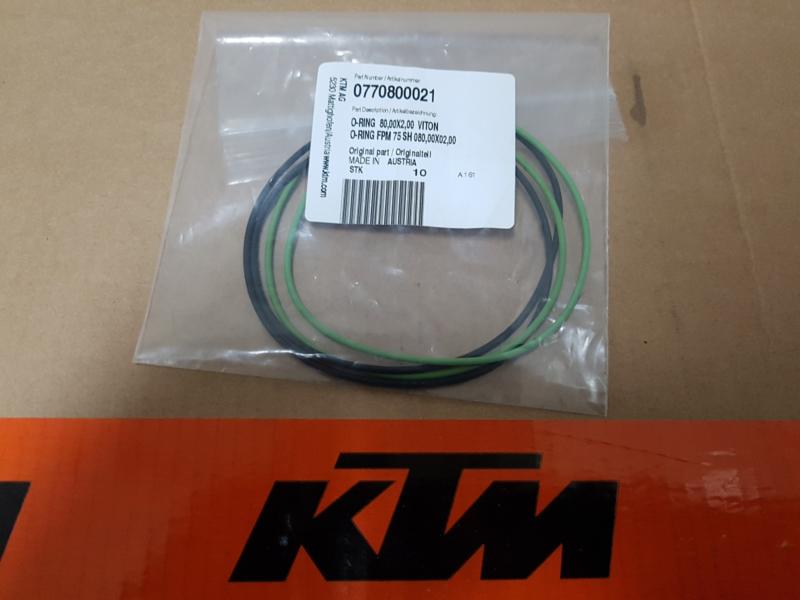 KTM SX 85 / HUSQVARNA TC 85 AFDICHTRING CILINDERKOP BUITEN ALLE BOUWJAREN