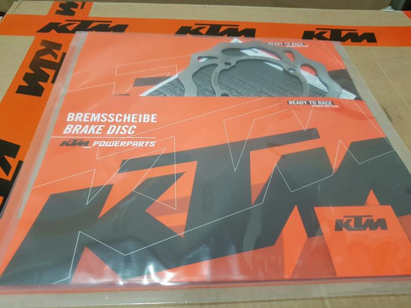 KTM SX 50 / HUSQVARNA TC 50 ORIGINELE REMSCHIJF  VOOR / ACHTER  2009 - 2020