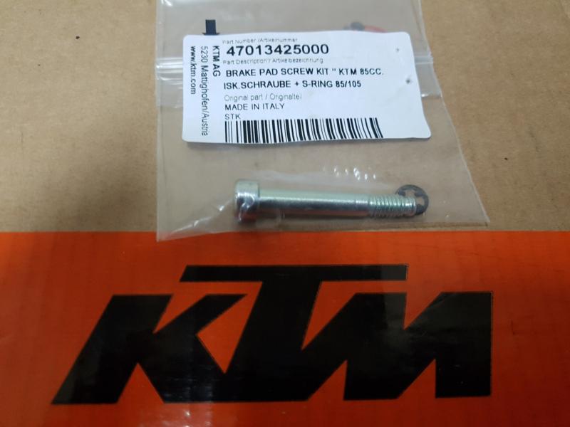 KTM SX 65 / HUSQVARNA TC 65 REMBLOK BOUT 2009-2020 TC 65 ACHTERREM