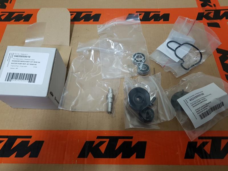 KTM SX 65 / HUSQVARNA TC 65 ORIGINELE REPARATIE KIT WATERPOMP 2009-2019