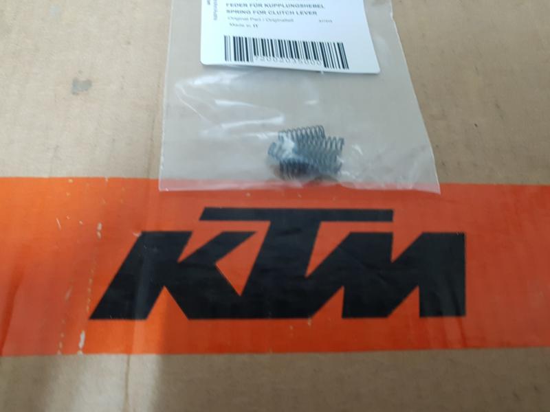 KTM SX 65 / SX 85 VEER REM / KOPPELINGSHENDEL TC 65 / TC 85