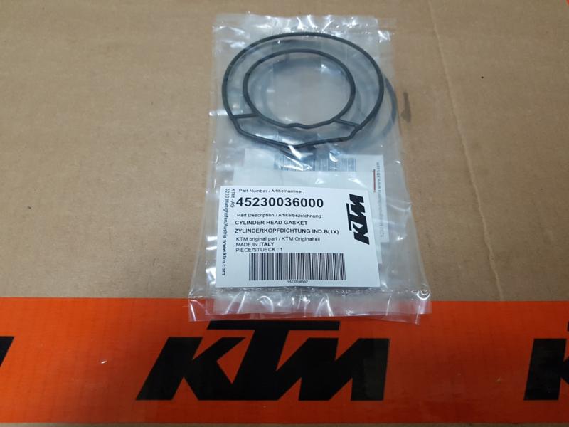 KTM SX 65 / HUSQVARNA TC 65 CILINDERKOP PAKKING 2009 - 2019