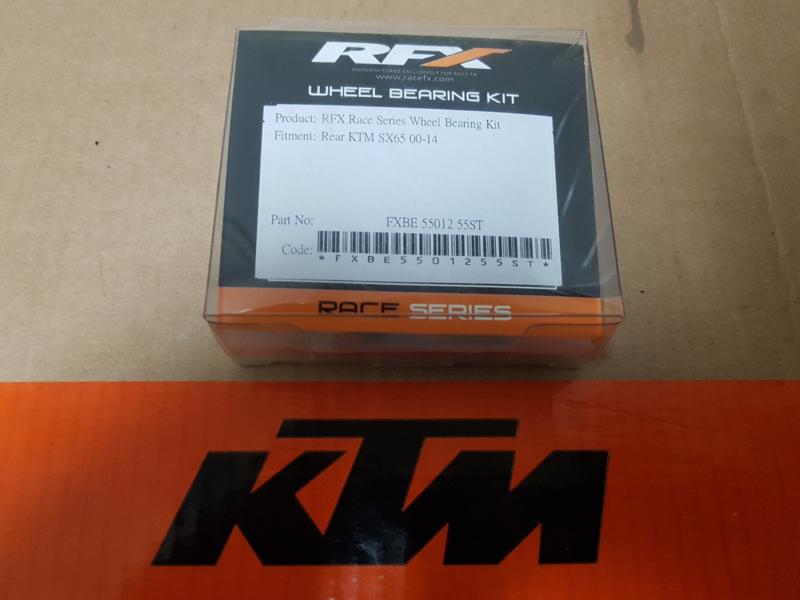 KTM SX 65/ HUSQVARNA TC 65  LAGERSET ACHTERWIEL  ALLE BOUWJAREN