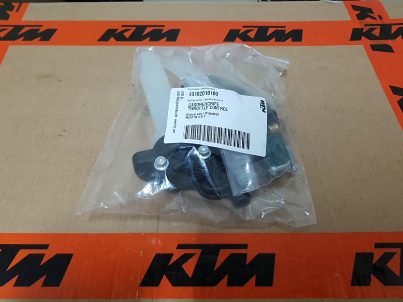 KTM SX 50 / HUSQVARNA TC 50 COMPLETE ORIGINELE GASHENDEL 2012-2020 NIEUW