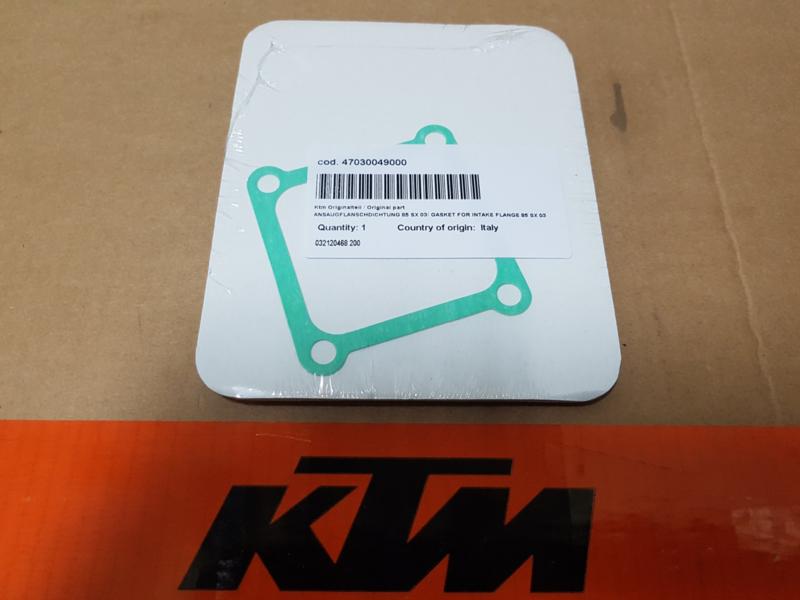 KTM SX 85 / HUSQVARNA TC 85 PAKKING INLAATRUBBER / MEMBRAAM ALLE BOUWJAREN