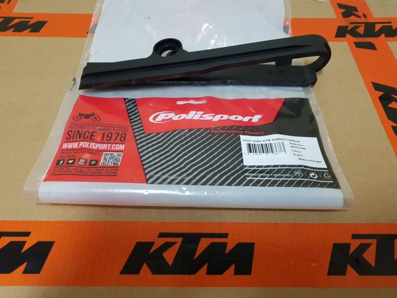 KTM SX 85 POLISPORT KETTING GELEIDER ZWART 2003  - 2014