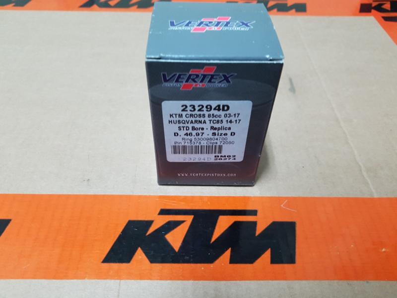 KTM SX 85  / HUSQVARNA TC 85 VERTEX ZUIGER MAAT D 46,97 BJ 2003 - 2019