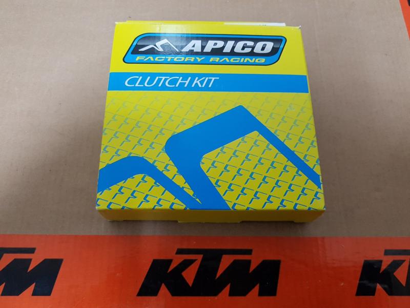 KTM SX 85 / HUSQVARNA TC 85 APICO FACTORY RACING COMPLETE SET KOPPELINGSPLATEN 2003-2017