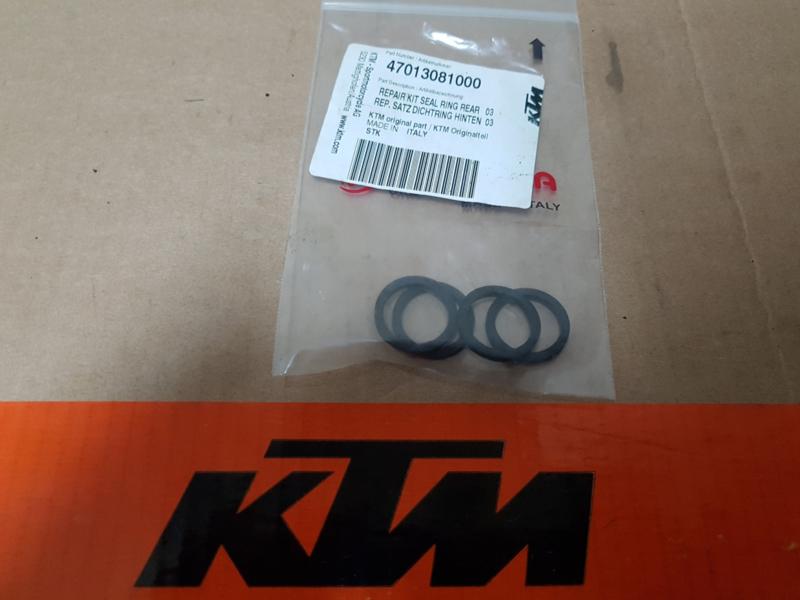 KTM SX 65  / HUSQVARNA TC 65 ACHTERREM AFDICHTRINGEN 2009-2019