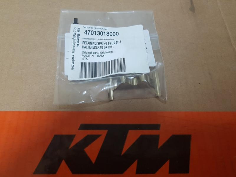 KTM 85 VEER ACHTERREMBLOKKEN 2011 - 2018 TC 85