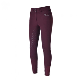 Kingsland kadi Ladies Full Grip Breeches Burgundy