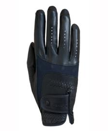 Roeckl Rijhandschoen Memphis Leather zwart