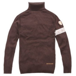 Kingsland turtle neck coffee Medium