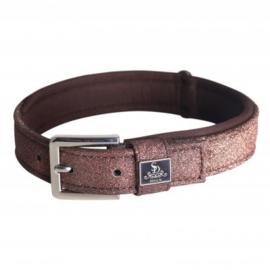 Sd design Hollywood Glamorous Dog collar dazzling chocolate