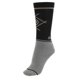 ANKY® sokken driekleurig  zwart / navy/antracite