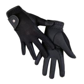 Zomer rijhandschoenen -Style- Hkm zwart