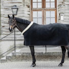 Kentucky zweetdeken show fleece heavy zwart maat 145/195