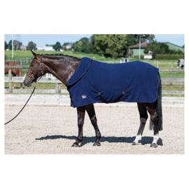 Harry horse fleecedeken met oprolbare nek dress-blues