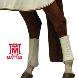 Mattes Hi Pro Fleece beenbeschermers achteraan Large