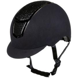 Hkm helm Brillant zwart / zwart