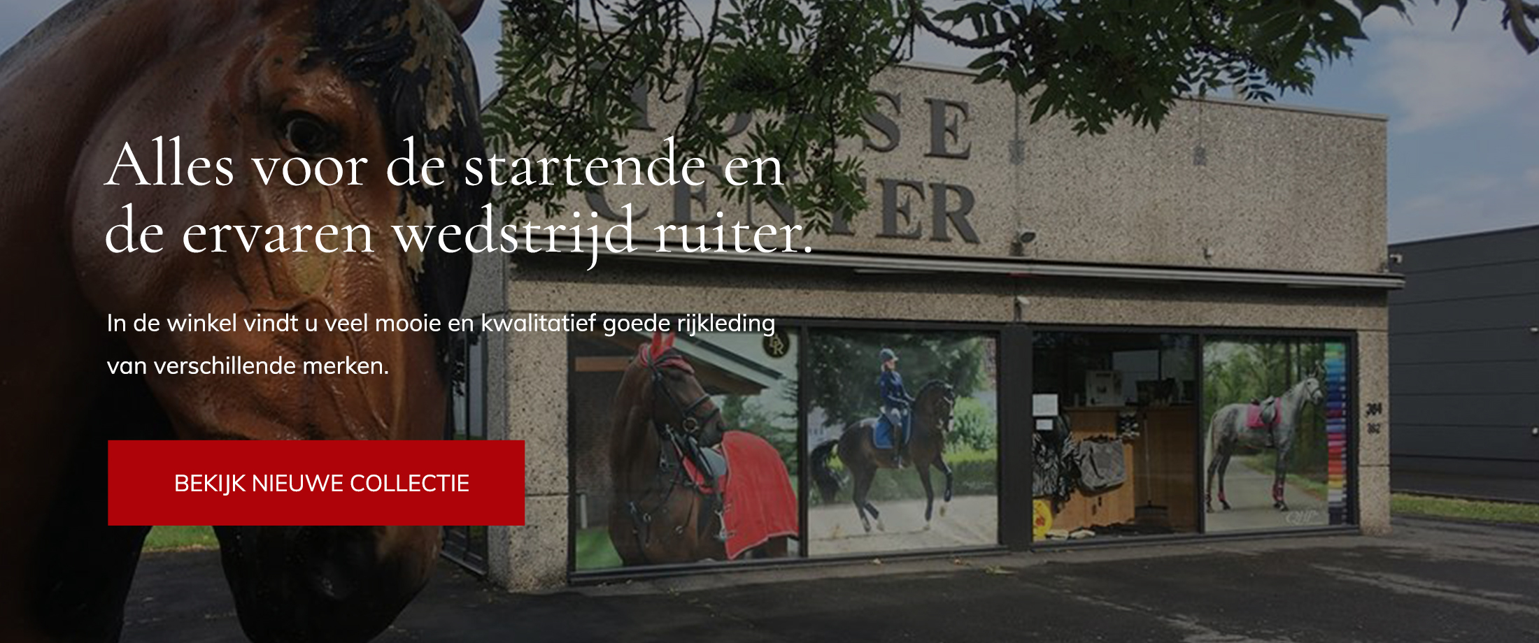 Horse center webshop