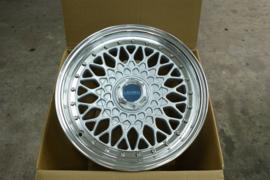 Velg Lenso BSX 7J x 15  4 x 100 ET38 Zilver