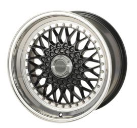 Velg Lenso BSX 7J x 15  4 x 100 ET38 Zwart