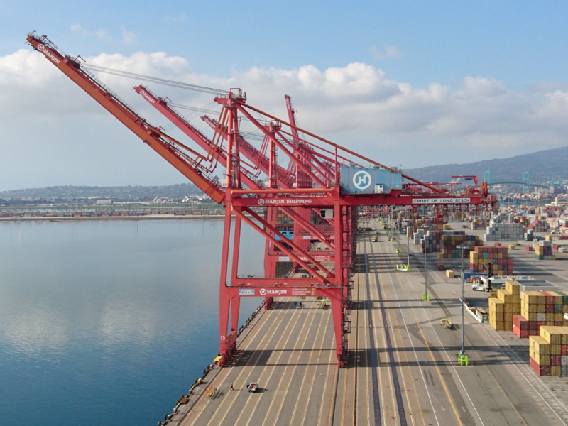 TTI Long Beach upgrades Crane OCR