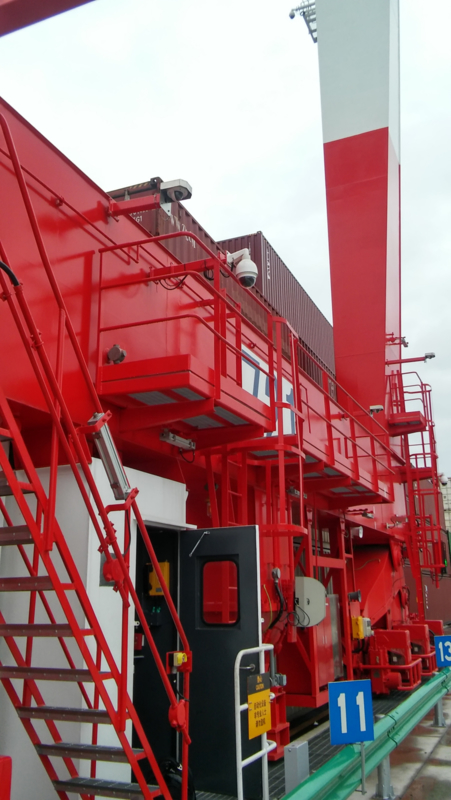 First Yard Crane OCR system delivered