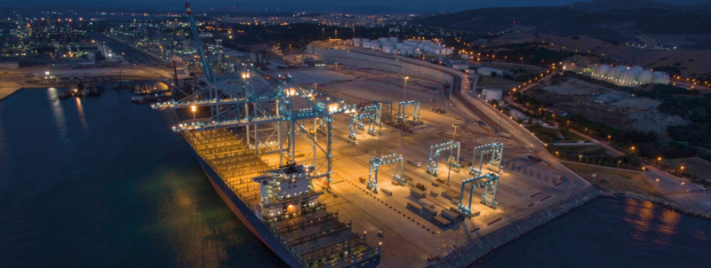APM Terminals Izmir first vessel call