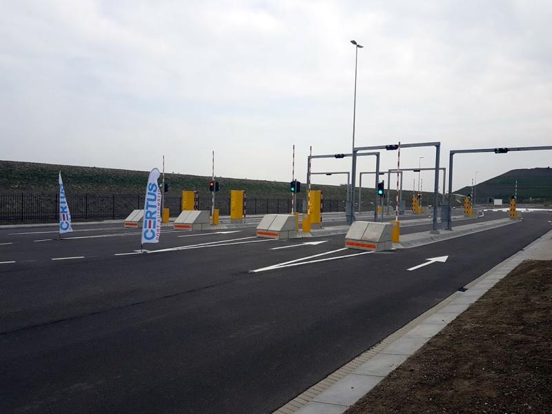 Truck parking Maasvlakte Plaza welcomes first truck
