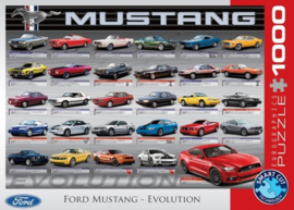 Ford Mustang Evolution Puzzel (1000)