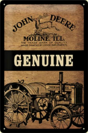 John Deere Genuine Moline.
